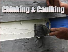 Chinking And Caulking  Augusta County, Virginia