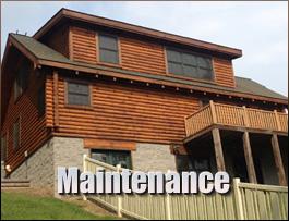 Log Home Maintenance  Augusta County, Virginia