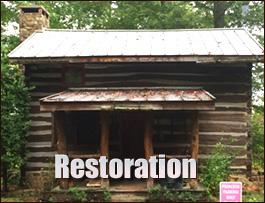 Log Cabin Restoration  Augusta County, Virginia